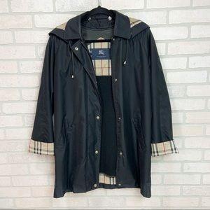 Burberry Removable Fleece Trench, Rain Coat Sz 6